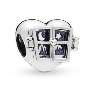 New Pandora Window Heart Charm